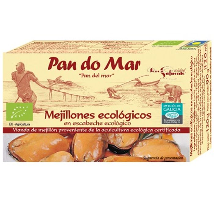 Musclos en escabetx 120g PAN DO MAR