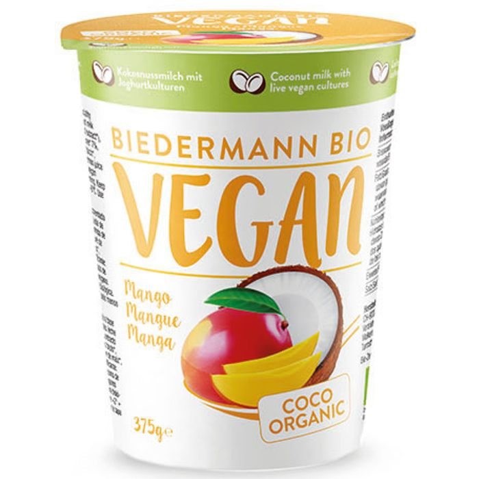 Iogurt COCO mango 375g BIEDERMANN