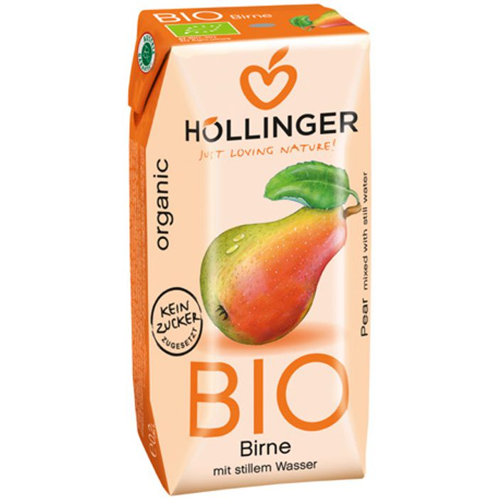 Suc de pera 3x200ml Hollinger