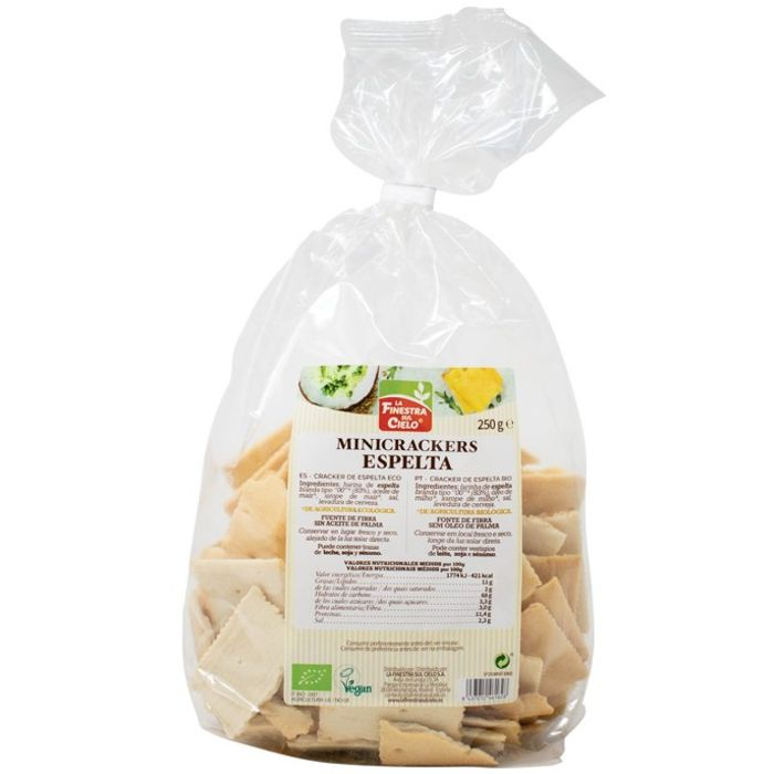 Crackers d'espelta 250g FINESTRA